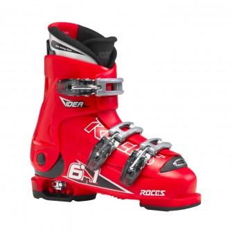 Roces Idea červené - dětské sjezdové boty 6 v 1