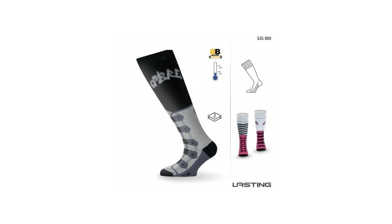 Dětské sjezdové ponožky Lasting SJG (-35 až +5°C)