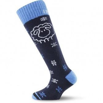 Dětské sjezdové ponožky Lasting SJW (-20 až +5°C)