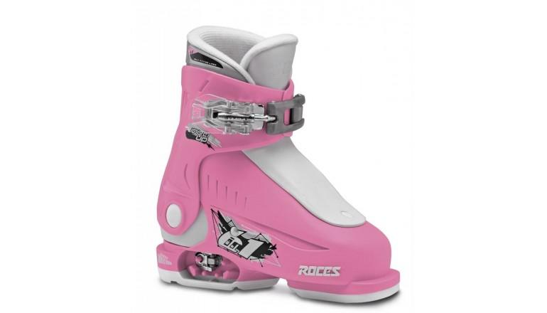 Roces Idea UP bílo-růžové - juniorské sjezdové boty 6 v 1