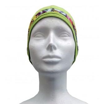 Dětská čepice Roli pod helmu vel. 50 - zelená