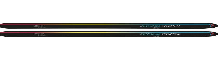 Běžky Sporten Perun Pro SKIN - pár lyží má odlišný design levé a pravé lyže