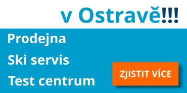 Prodejna, skiservis, test centrum v Ostravě