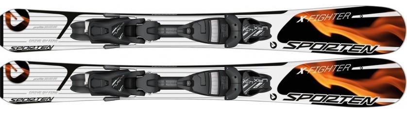 Lyže Sporten X-Fighter 12/13 + Tyrolia LRX 4.5