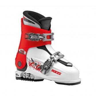 Roces Idea UP bílo-červené - juniorské sjezdové boty 6 v 1