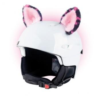 Crazy Uši Teplo Uš - Kočka růžová