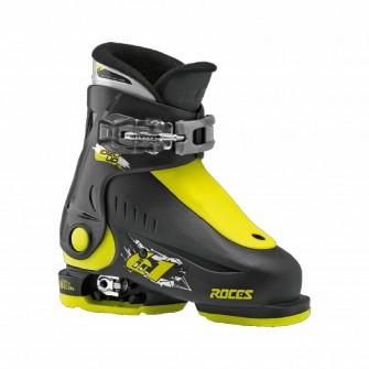 Roces Idea UP černo-žluté - juniorské sjezdové boty 6 v 1