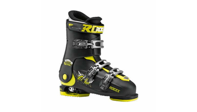 Roces Idea FREE černožlutá - dětské sjezdové boty 6 v 1
