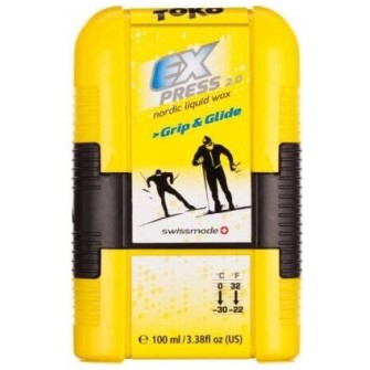 Běžecký vosk Toko Express Grip and Glide Pocket 100 ml