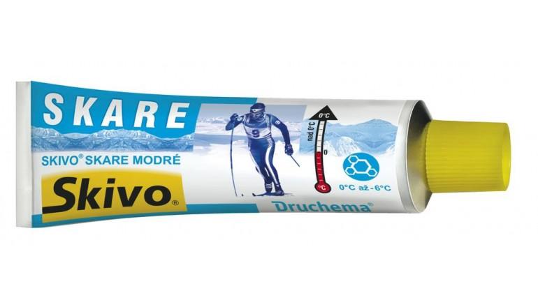Běžecký podkladový vosk SKIVO Skare modrý - 50g