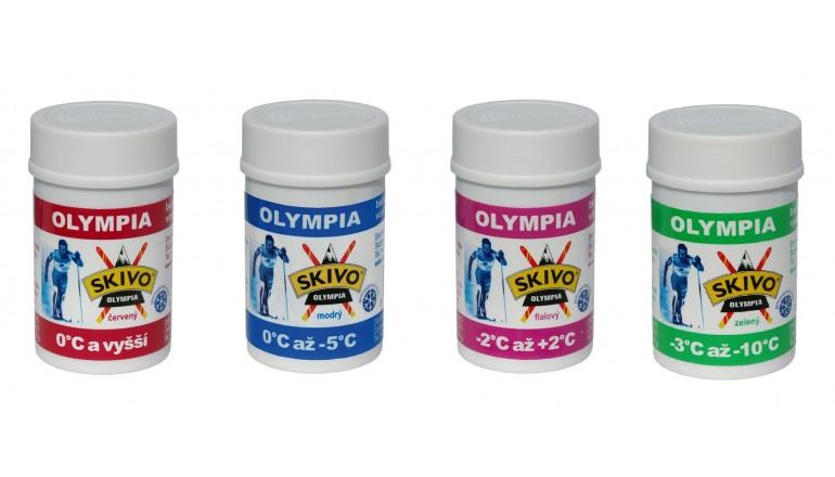 Běžecký stoupací vosk Olympia - 40g všechny