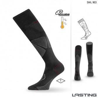 Sjezdové ponožky Lasting SWL (-10 až +10°C)