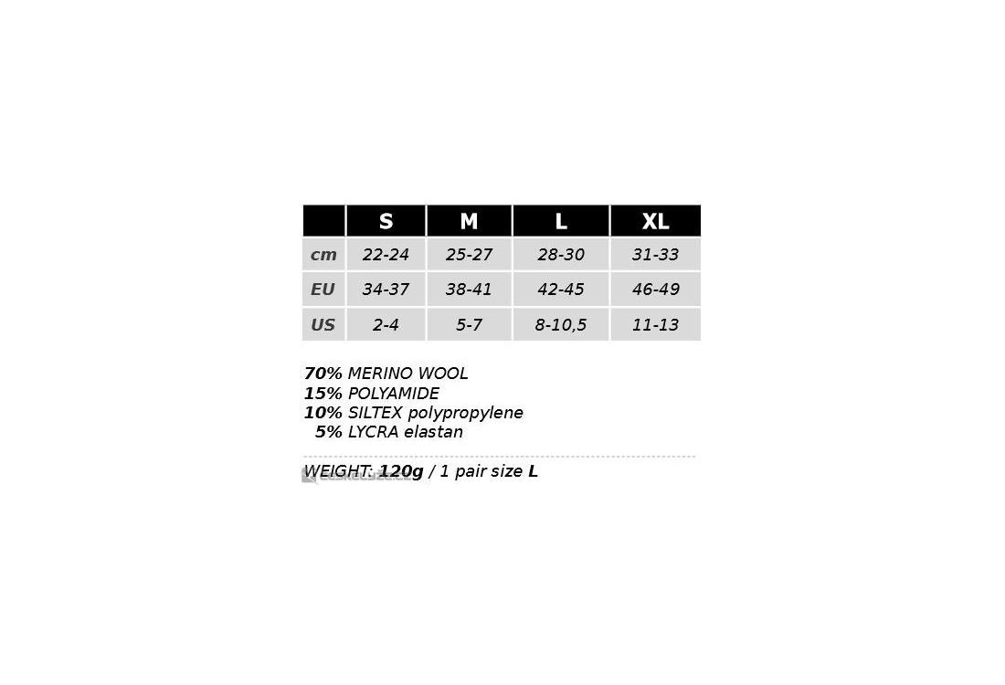 b7f730341b1 Sjezdové ponožky Lasting SWR (-35 až +5°C) - České Lyže.cz