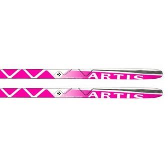 Běžky Artis Cristal růžové - (100 - 130 cm)
