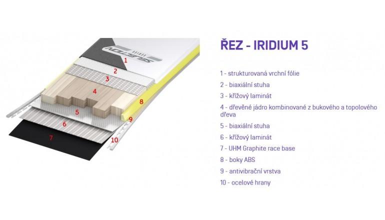 Lyže Sporten Iridium 5 + Tyrolia PR 12 MBS
