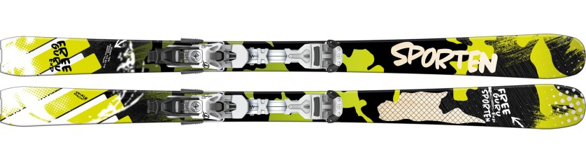 Lyže Sporten Free Guru EXP + Tyrolia Ambition 12