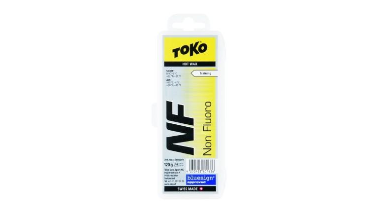 Skluzný vosk TOKO NF Hot - 120g