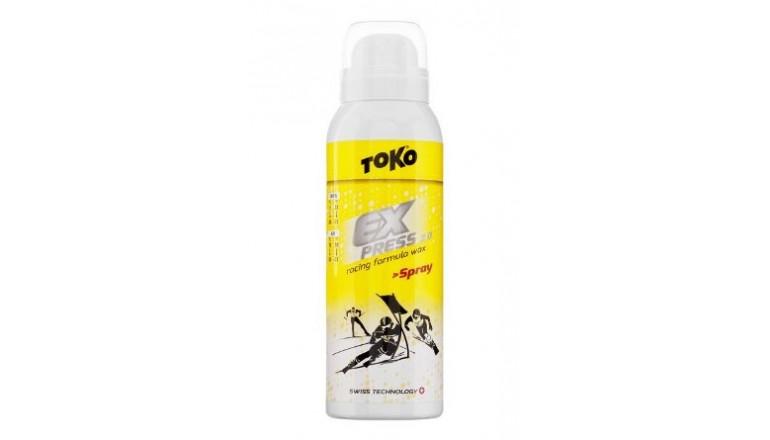Skluzný vosk ve speji TOKO Express Racing