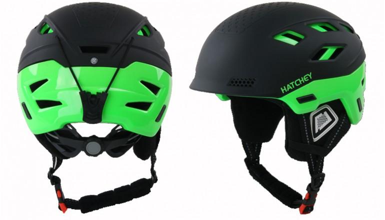 Dětská helma Hatchey Desire green junior