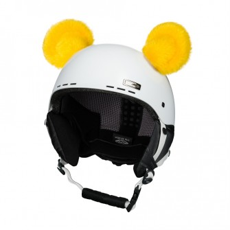 Crazy Uši Teplo Uš - Medvídek žlutý