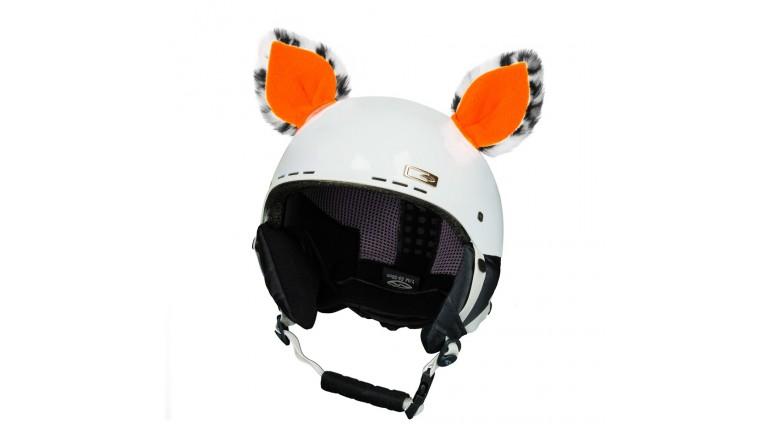 Crazy Uši Teplo Uš - Kočka neon oranžová