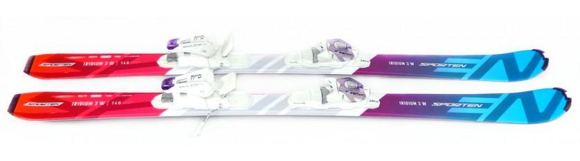 Lyže Sporten Iridium 3 W + Vist VSS 310
