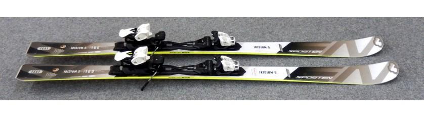 Lyže Sporten Iridium 5 160cm + Vázaní Tyrolia PRD11 - TESTOVACÍ LYŽE