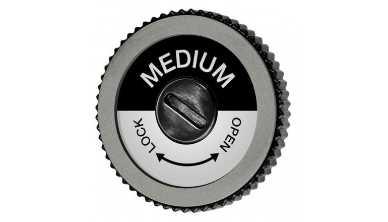 Diamond Disk Black Medium pro Edge Tuner World Cup