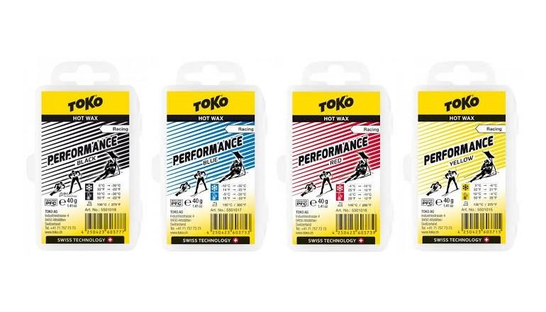 Skluzný vosk TOKO Performance - 40g