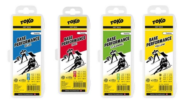 Skluzný vosk TOKO Base Performance - 120g