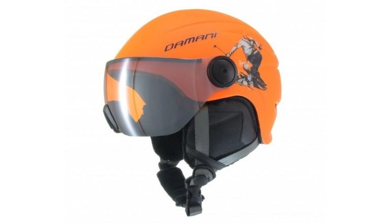 Helma Damani Skier Visor oranžová