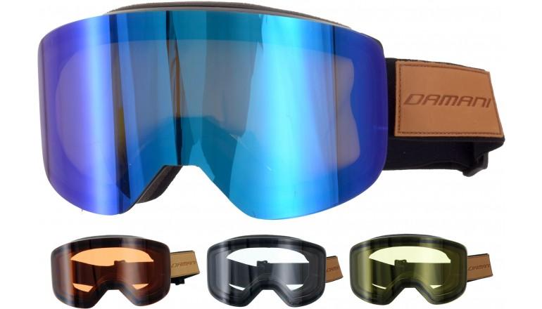 Magnetické brýle Damani GA03 - REVO sklo modré + rozjasňujíci sklo