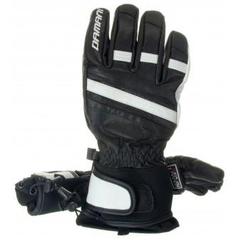 Lyžařské rukavice Damani R03 celokožené