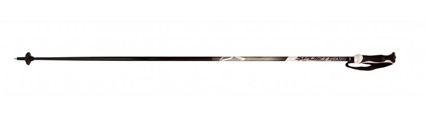Sjezdové hole Sporten RS black 80% carbon