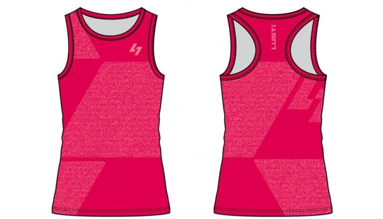 Běžecké tílko Lusti Anne - pink