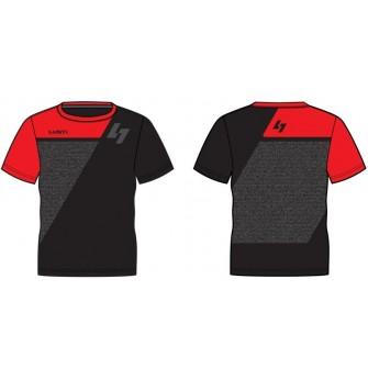 Pánské triko Lusti John Micro - red & black