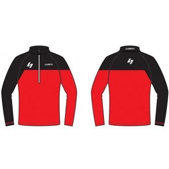 Zateplené lyžařské triko Lusti Flap - red