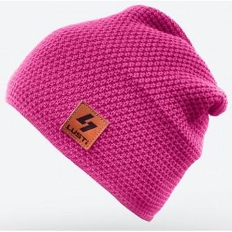 Čepice Lusti - růžová dlouhá