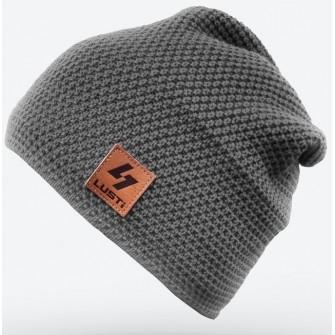 Čepice Lusti - šedá dlouhá