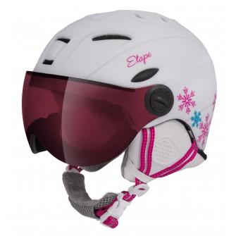 Dětská helma Etape Rider PRO - bílá