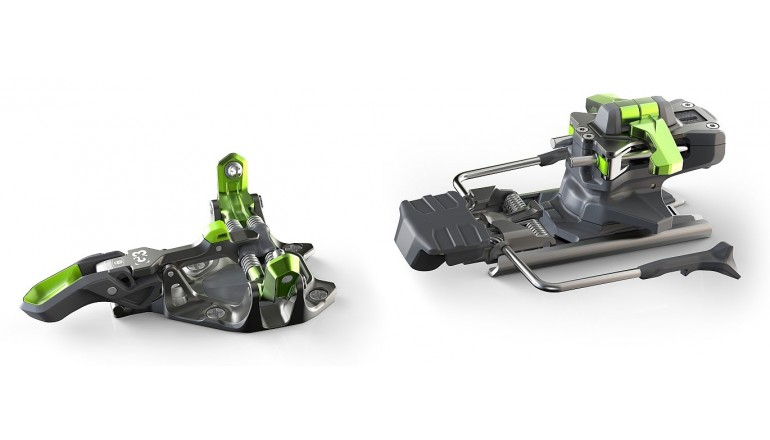 G3 ZED 12 - skialpové vázání s brzdou