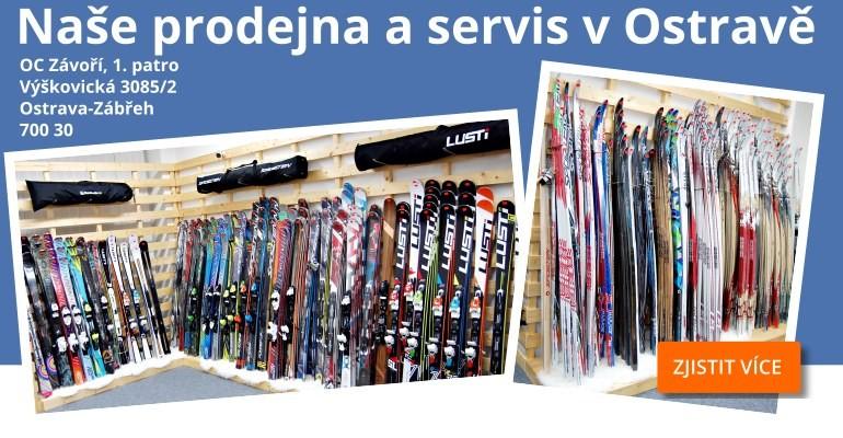 Nová prodejna a servis lyží Lusti a Sporten v Ostravě