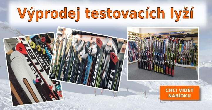 Výprodej testovacích lyží